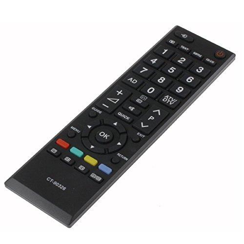 populsell TV-Fernbedienung CT-90326CT90326Ersatz für Toshiba LCD LED HD Fernseher