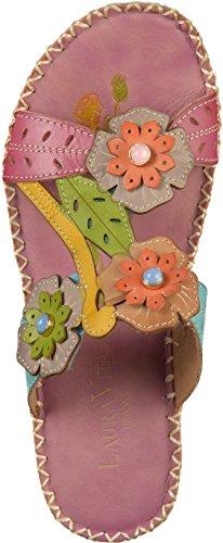 Rosa 65 Zuecos Cuero Laura Mujer Vita Fashion De Betsy 65 Sd368 xvv1IH