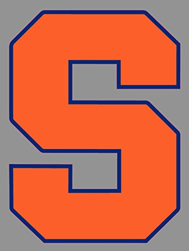 - Syracuse Orange Window Sticker |6 in Logo Truck Emblem Windows Laptops | NCAA Basketball Banner.