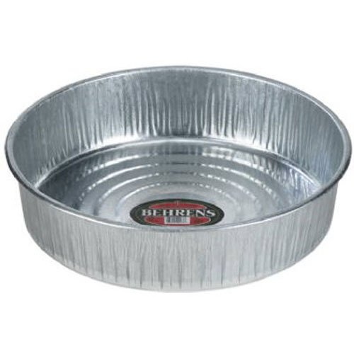 Mfg Metal - Behrens 2168 3-Gallon Seamless Drain/Utility Pan