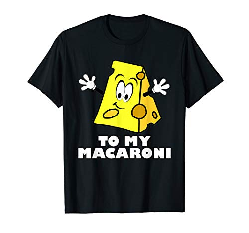 Funny Mac'n'Cheese Halloween Matching Couple Costume T-Shirt -