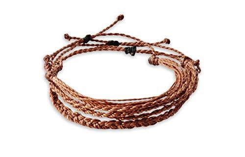 Hola Hola Boho Bracelets, Friendship Bracelets, Friendship Bracelet, Braided Bracelet, Thread Bracelets, Friendship Bracelets for Women, Girls, Men, Handmade Bracelets, Woven, Pack, Jewelry (Brown)