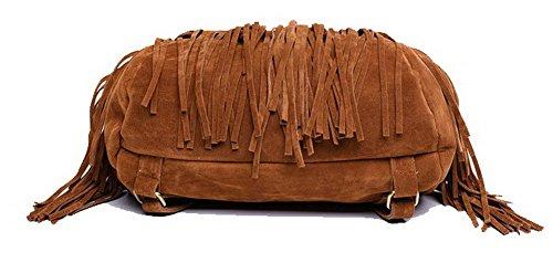 bandoulière à Décontractée Mode Noir Sacs AgooLar fourre tout Sacs Brun Cotton Femme 8nqxzwIOTB