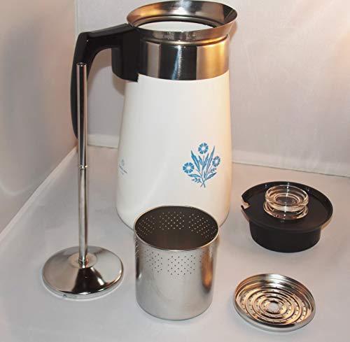 Corning Cornflower Blue 9-cup Coffee Pot