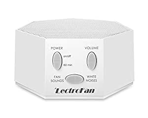 LectroFan Global Power Edition High Fidelity White Noise Machine with 20 Unique Non-Looping Fan and White Noise Sounds and Sleep Timer and International Adapter Kit
