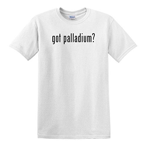 (fagraphix Men's Got Palladium ? T-Shirt XXX-Large White)