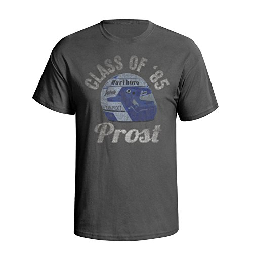 (Alain Prost Mens Motor Racing Legend T-Shirt [Apparel])