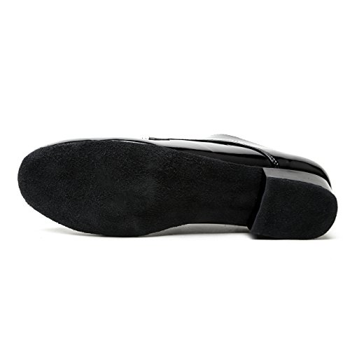 homme bal Suede Salle Black Minitoo Synthetic de FtwHSB8q