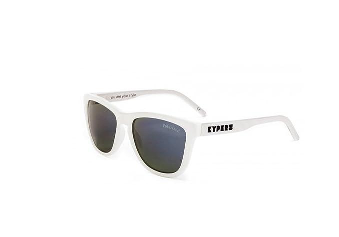 KYPERS Caipirinha Gafas de sol, Matte White - Ice Blue ...