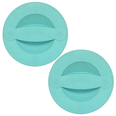 Pyrex 2 Cup Measuring Cup Lid - Turquoise (2-Pack)