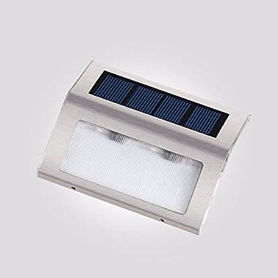 Éclairages solaires, Lumières LED Éclairage solaire extérieur Éclairage extérieur pour jardin, Clôture, Patio, Cour, Allée, Allée, Mur extérieur, Imperm&eac