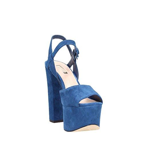 Guess - Sandalias de vestir para mujer Azul azul Azul
