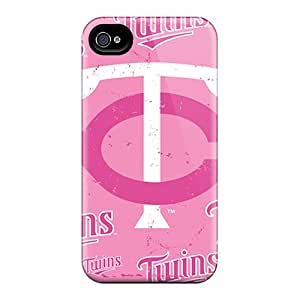 Excellent Cell-phone Hard Cover For Iphone 6plus With Custom Realistic Minnesota Twins Pattern JoanneOickle