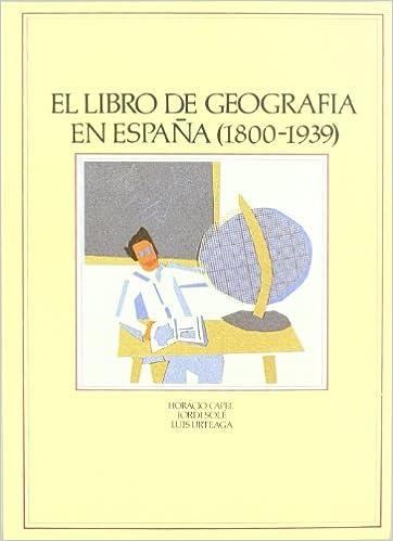 Libro de geografia en España 1800-1939: Amazon.es: Libros