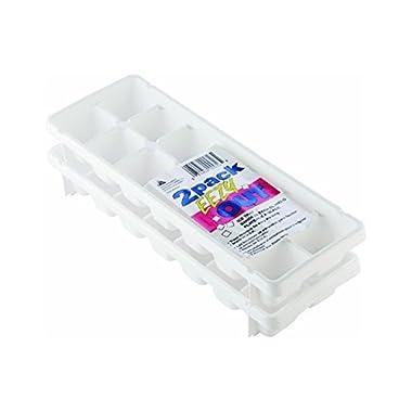 Arrow Plastic 00050 14 Ice Cube Tray - 2 Count