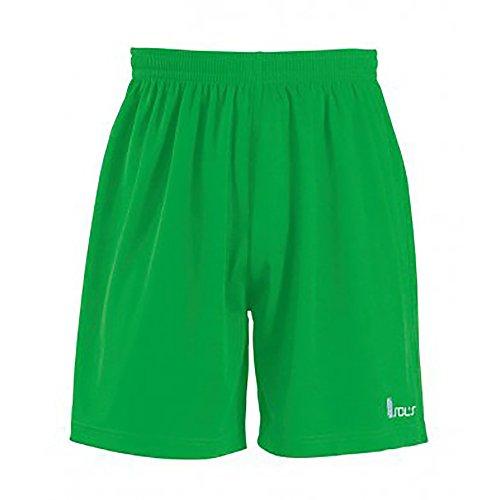 SOLS - Pantalones cortos elásticos modelo Borrusia para hombre Verde