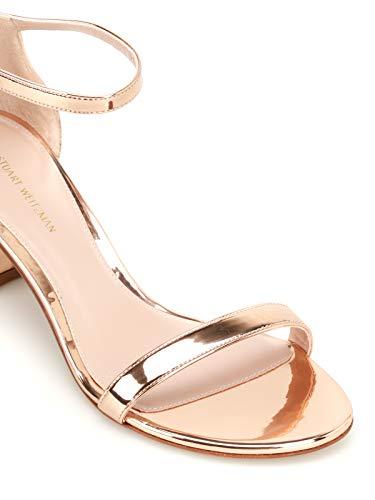 Sandals Simplebeige Stuart Weitzman Leather Gold Women's EXwP7Yx78q