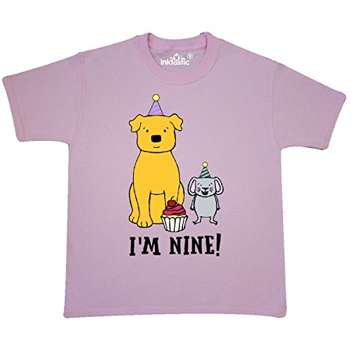 Inktastic Youth T-Shirt Youth Large (14-16) Light Pink - Michelle Nelson-Schmidt (151 Nelson)