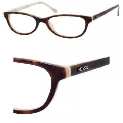 FOSSIL Monture lunettes de vue MIKAYLA 0UV2 Écailles/Corne 52MM