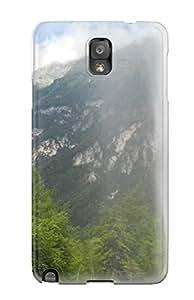 Hot Premium Galaxy Note 3 Case - Protective Skin - High Quality For Val Raccolana(vista Da Dietro Il Fontanone Di Goriuda
