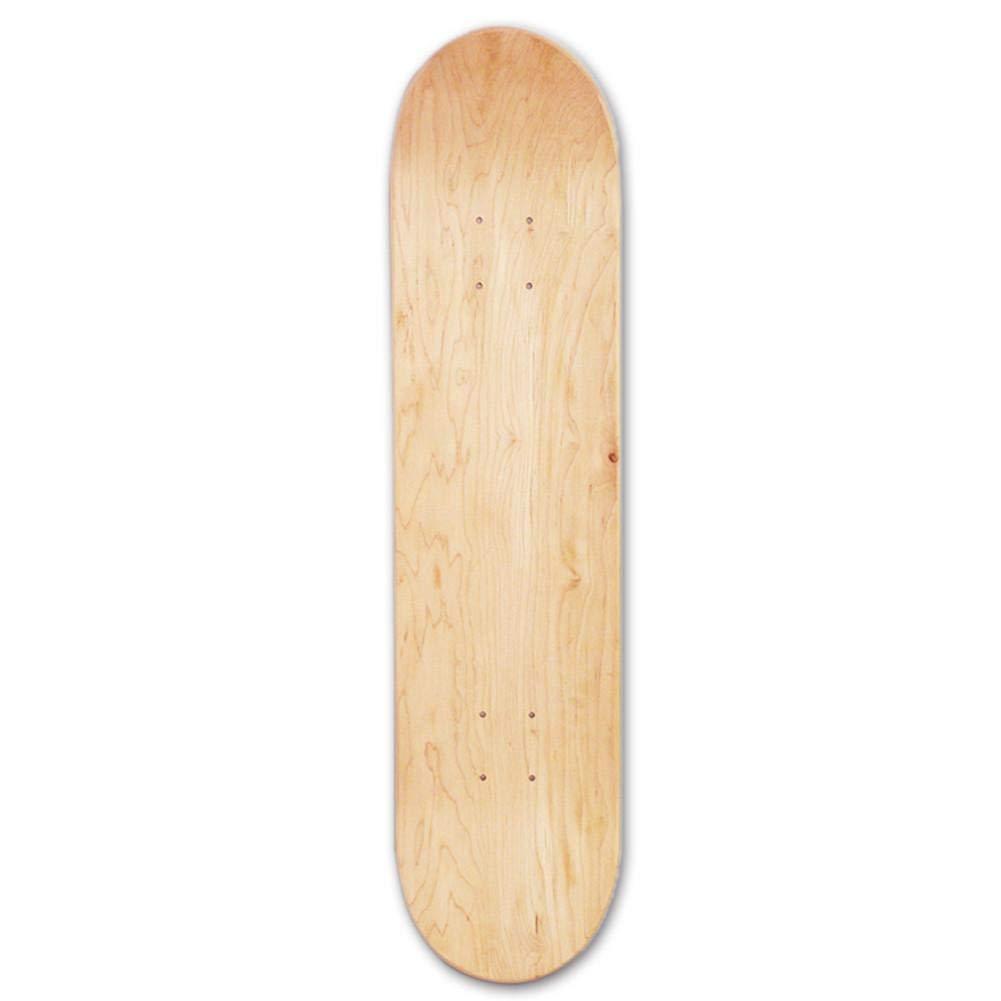 Anna-neek Skateboards Cruiser Deck mit konkaven Ahornbrett Hohe Elastizität Doppelter Rocker