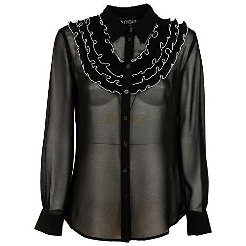Boutique Nero Boutique Camisa Nero Moschino Moschino Boutique Mujer Boutique Mujer Camisa Nero Moschino Camisa Moschino Mujer qawXnRUSx