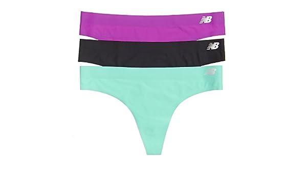 New Balance para Mujer Bond Tanga Talla 3 Unidades, Mujer, Azalea Purple/Black/Reef Green: Amazon.es: Deportes y aire libre