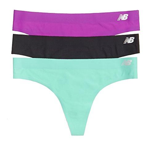 New Balance para mujer Bond Tanga talla 3unidades, mujer, Titan Purple/Black/Azalea Purple Azalea Purple/Black/Reef Green