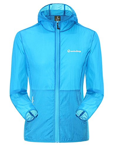 Small-laly Couple models Super Lightweight UV-protection Wear UPF 50+ Quick Dry Windproof Skin Coat