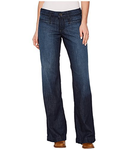 Ariat Women's Trouser Jean, Blue IVY Dawn, 30 reg (Leg Trouser Jeans)
