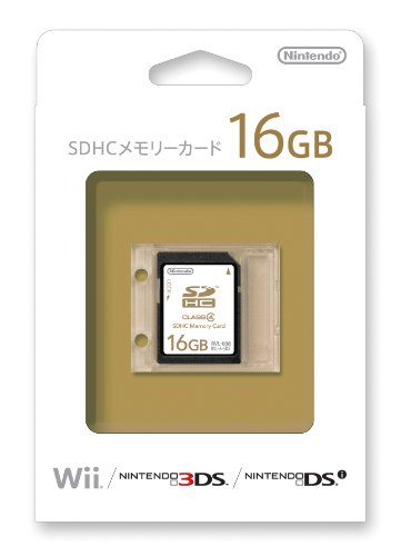 16GB SDHC Memory Card by Nintendo