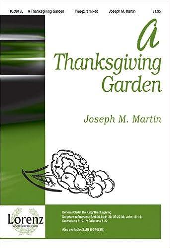 Book A Thanksgiving Garden