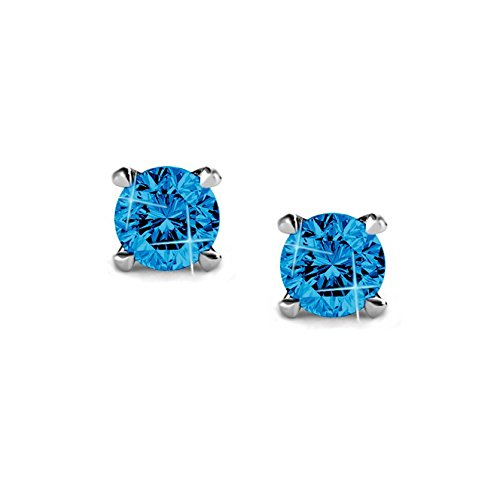 Rhodium-Plated-Sterling-Silver-925-Stud-Earrings-with-Swarovski-Crystals
