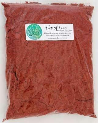 AzureGreen IPGFIRB 1 Lb 1618 Gold Fire of Love Powder Incense