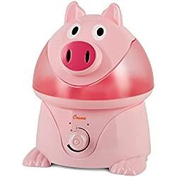 Crane Adorable Ultrasonic Cool Mist Humidifier - Pig