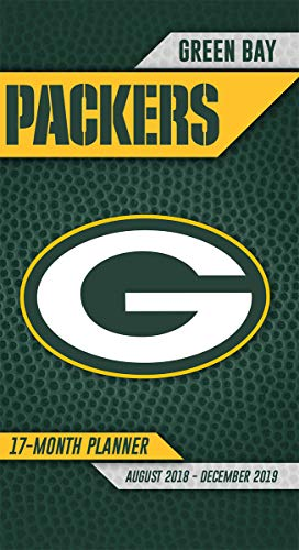 Turner Licensing Green Bay Packers 2018-19 17-Month Planner (19998890543) - Green Bay Packers Schedule