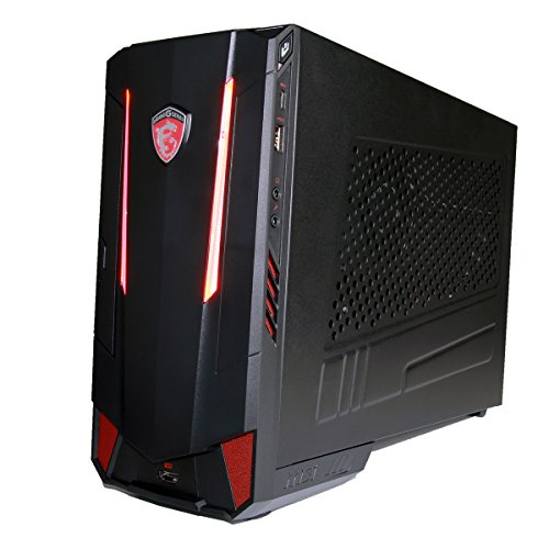 CUK MSI Nightblade MI3 Virtual Reality Ready Gaming Engineering PC (Intel i7-7700 Quad Core, 16GB RAM, 128GB SSD + 1TB HDD, GTX 1060 3GB, Windows 10) Architecture Workstation Desktop Computer à
