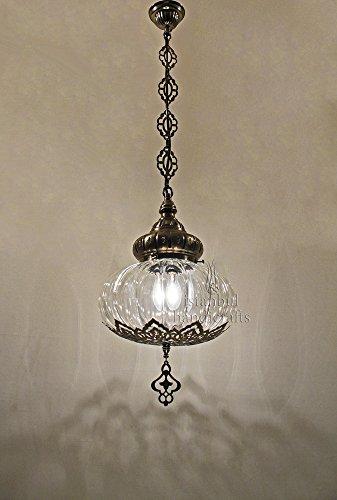 Ottoman Lamp (Turkish Ottoman Hanging Lamp - Pyrex)