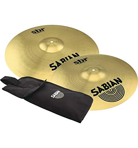 Sabian SBR 16'' & 18'' Crash Value Bundle - Free Sabian Stick Bag by Sabian
