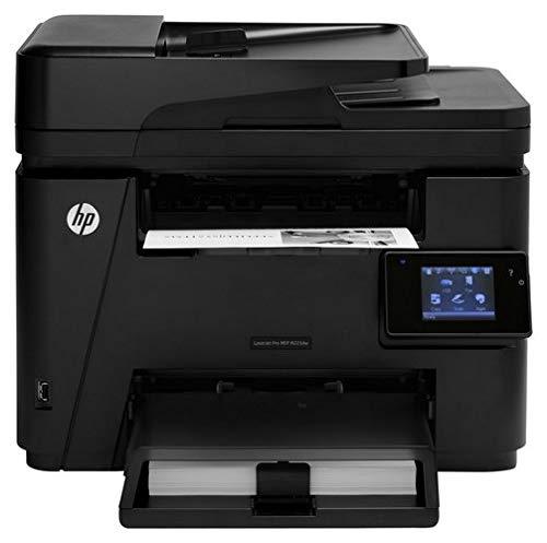 (HP Laserjet Pro M225dw Wireless Monochrome Printer with Scanner, Copier and Fax, Amazon Dash Replenishment Ready (CF485A) (Renewed))