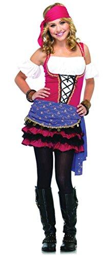 Crystal Ball Gypsy Adult Costume - -