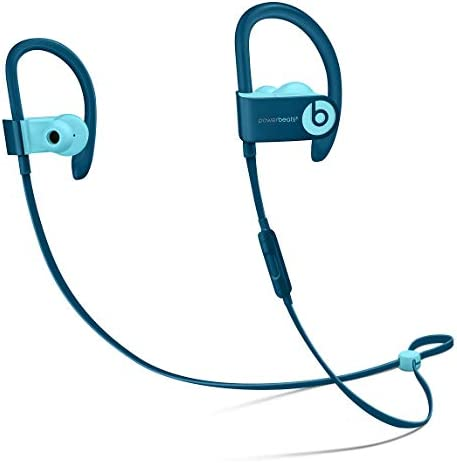 Apple Powerbeats3 - Wireless Earphones - Beats Pop Collection - Blue - MRET2LL/A (Renewed)