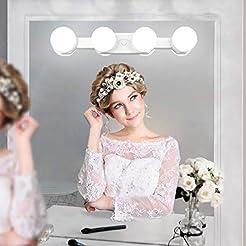 Portable Makeup Lights Cordless Recharge...