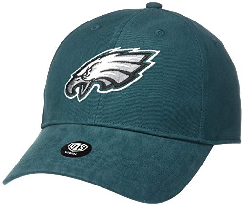 NFL Youth Philadelphia Eagles OTS Cinch All-Star Adjustable Hat, Youth, Team Color (Eagles Football Hats)