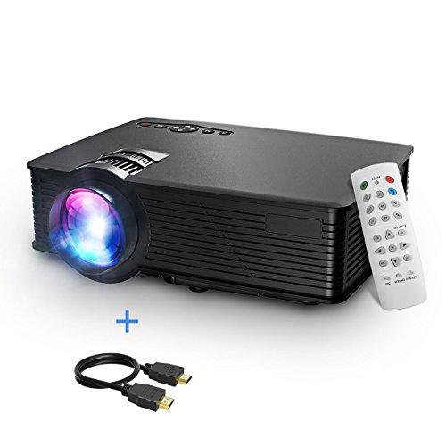 Mpow LCD Proyector, 1200 Lúmenes LED Mini Proyector Portátil ...
