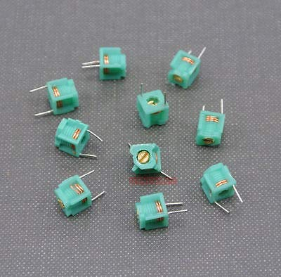 (Maslin 100pcs 1.5T 2.5T 3.5T 4.5T 5.5T Variable Inductors,Coil Adjustable - (Volume: 5point5T) )