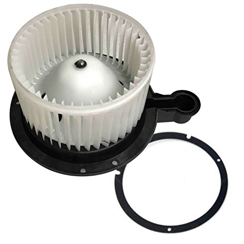 SCITOO ABS Plastic Heater Blower Motor w/Fan HVAC Resistors A/C Blowers Motors fit for 2006-2010 Ford Explorer /2007-2010 Ford Explorer Sport Trac /2006-2010 Mercury Mountaineer Front