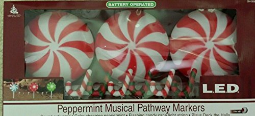 Peppermint Pathway Lights in US - 2