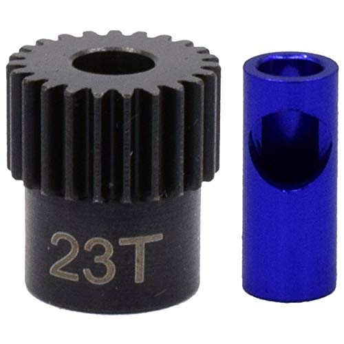 Hot Racing NSG823 23t Steel 48p Pinion Gear 5mm or 1/8