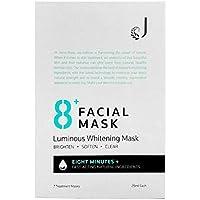 Jema Rose 8+ Minute Luminous Whitening Mask 7 Pack, 7 count